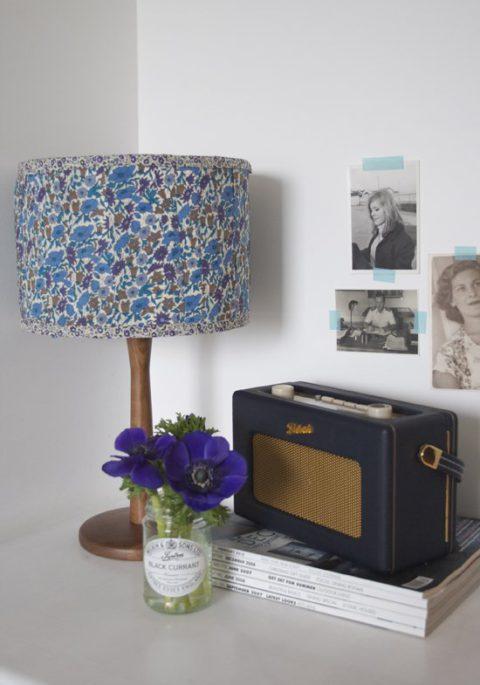 Декорируем старую лампу своими руками