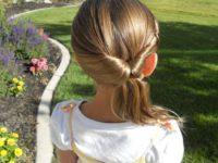 10 простых летних причесок для девочек