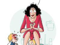 Мамины будни: 10 забавных иллюстраций