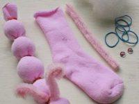 Три мягкие игрушки, которые ребенок может сделать своими руками