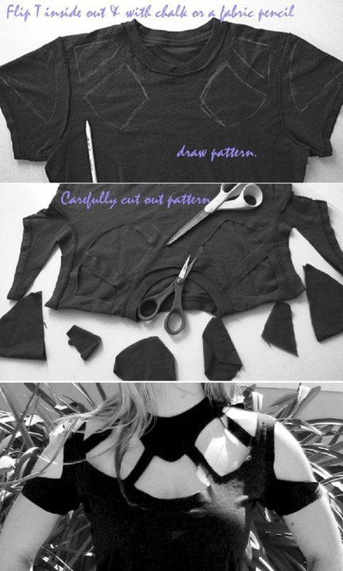 11 способов превратить старую футболку в что-то очень стильное