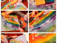 Вместо кисточки: 10 способов для креативного рисования
