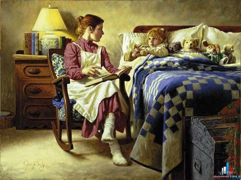 Ностальгия по детству в добрых картинах Джима Дейли