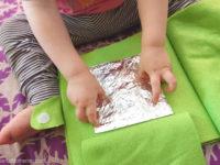 Тактильная книга для малыша: идея для создания