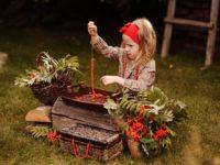 Золотая осень: 10 лучших идей для детской фотосессии