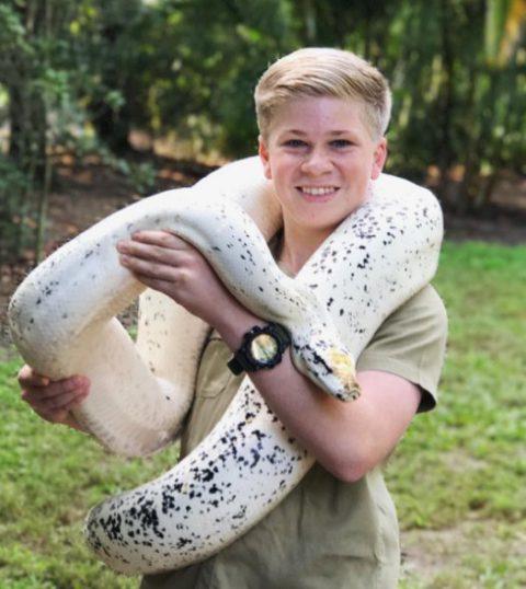 13-летний мальчик делает яркие снимки диких животных, продолжая дело покойного отца