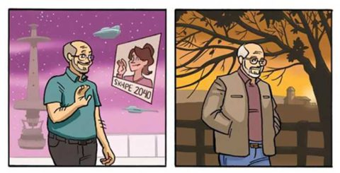 Трогательная история о том, как растут наши дети в серии комиксов Дэна Догерти