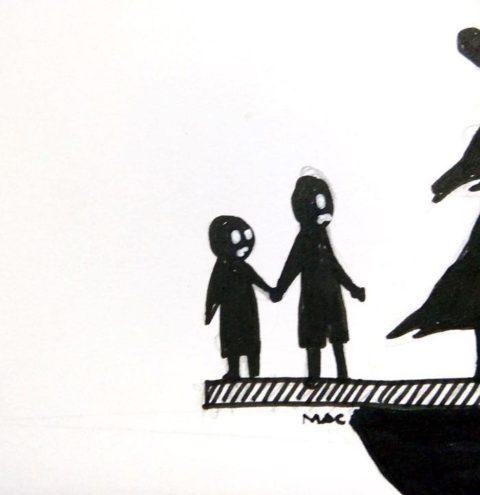Как выглядят измена и развод в глазах ребенка: 7 эмоциональных рисунков