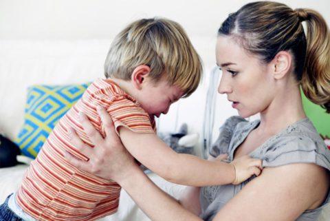 Как поддержать плачущего ребенка