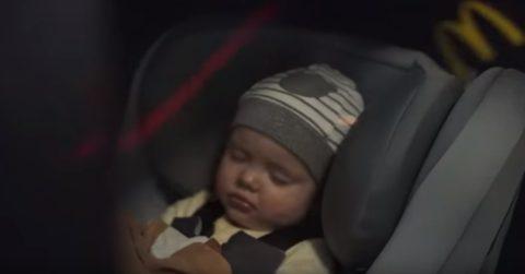 McCafe сняли трогательную рекламу о том, как они беспокоятся о комфорте младенцев