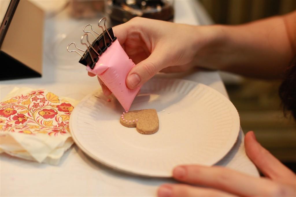Мастер класс для детей печенье