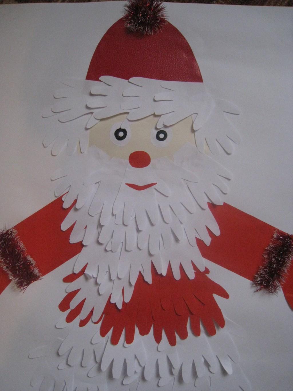 Дед мороз своими руками с ребенком 4 лет