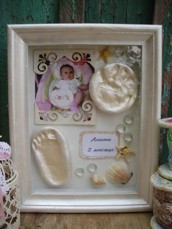 Панно на рождение ребенка своими руками 13