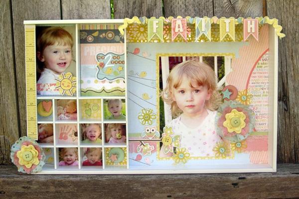 Коробка с фотографиями своими руками