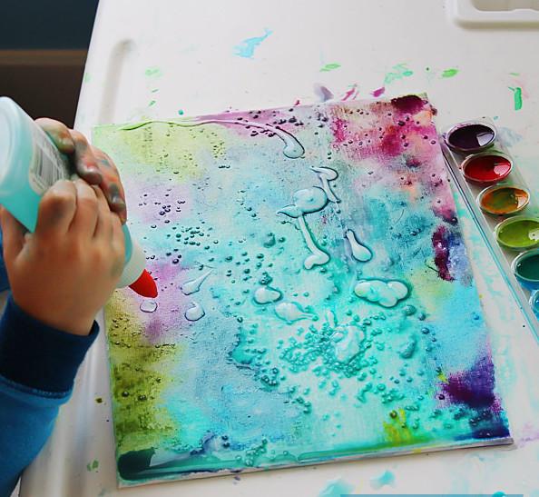 Поделки из акварельных красок