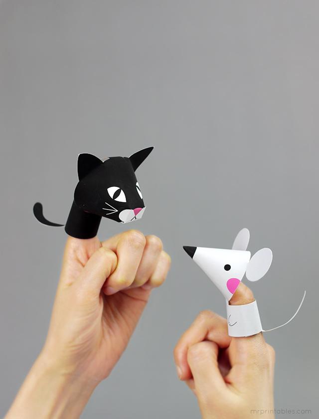 Как сделать смешную игрушку из бумаги