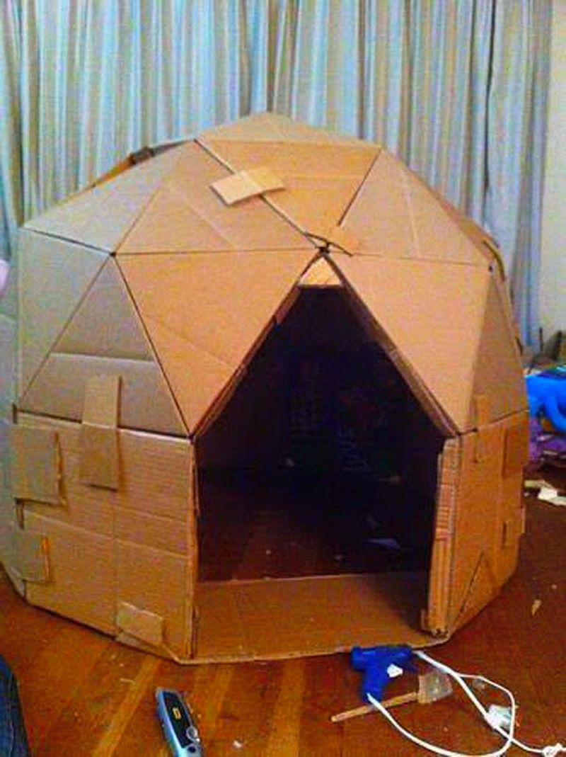 Как в домашних условиях сделать домик для хомяка
