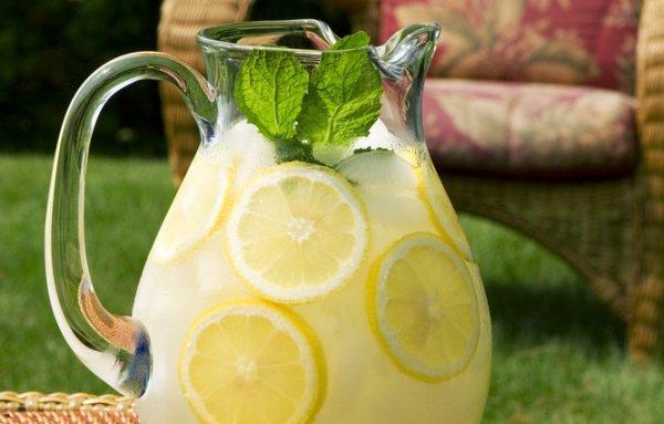 Напитки с лимоном в домашних условиях
