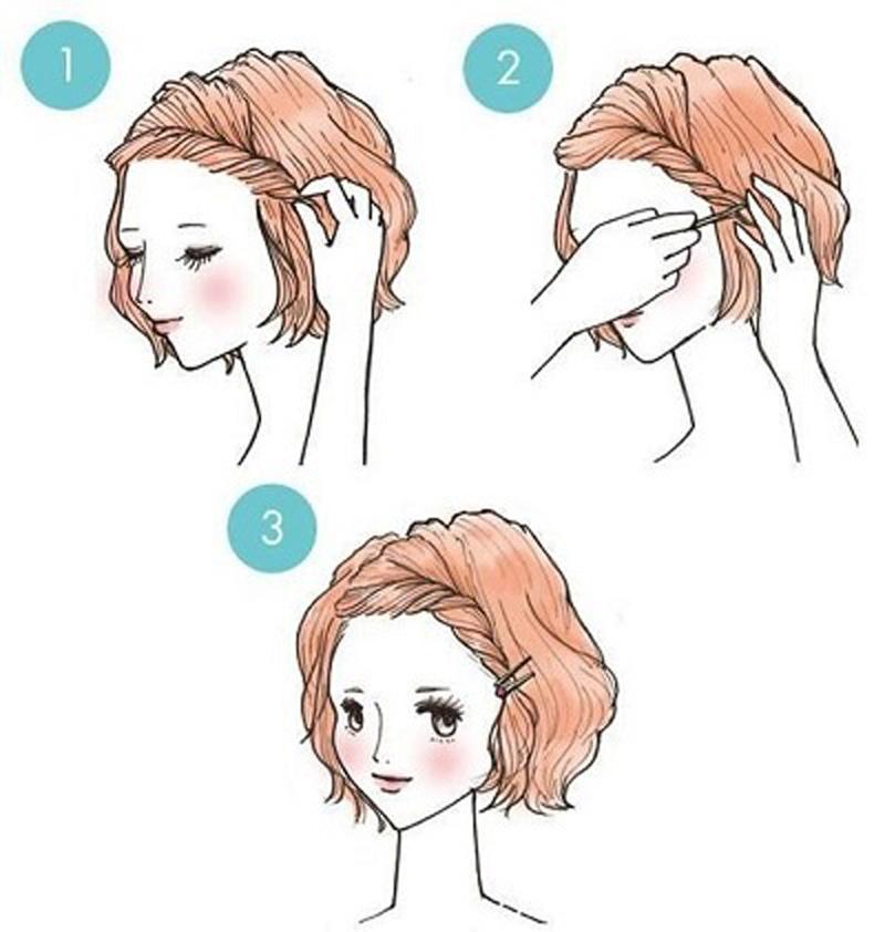 Как сделать причёску в школу легко и быстро