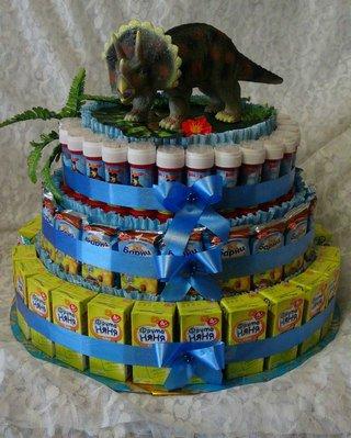 Делаем торт ребенку своими руками 14