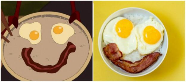 завтрак как в мультике