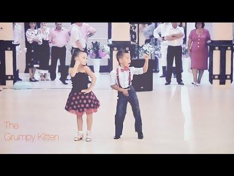 Даже не верится, что этим профессиональным танцорам всего по 6 лет
