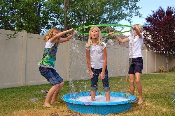 Мыльные пузыри как сделать в дом