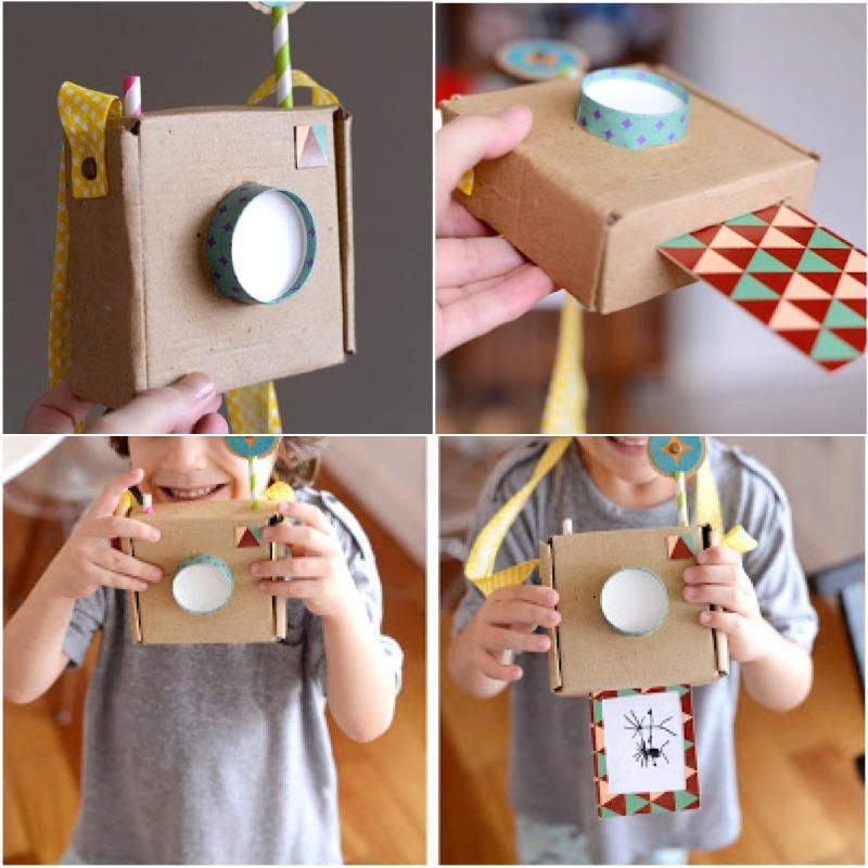 Как сделать игрушечный фотоаппарат своими руками