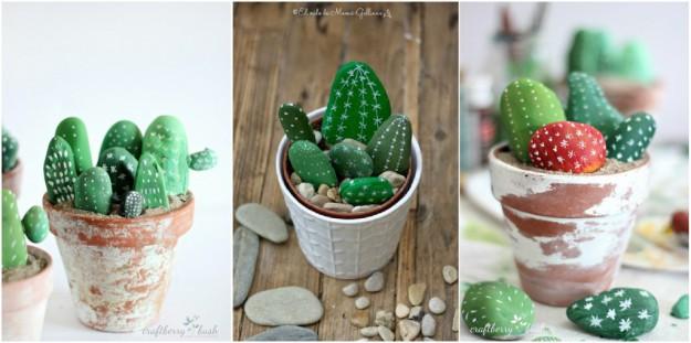 каменные кактусы