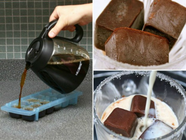 кубики кофе