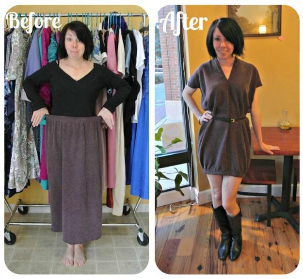 Обновить старое платье своими руками фото