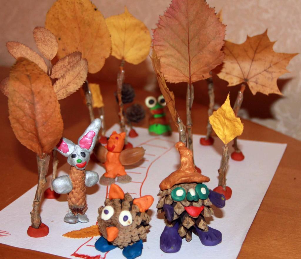 Какие поделки можно сделать на тему осень фото