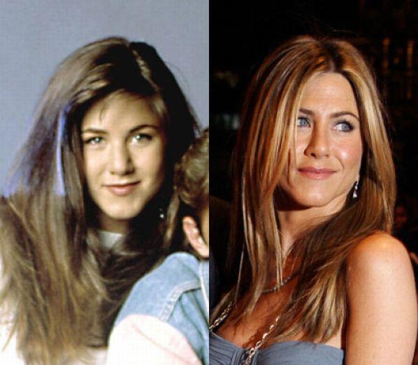Дженифер Энистон, 1987 и 2014