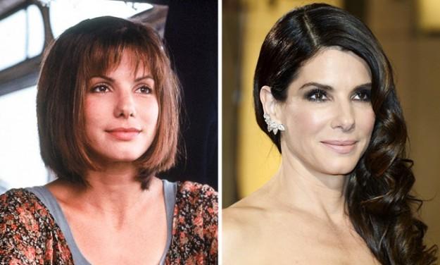 Сандра Буллок, 1994 и 2014