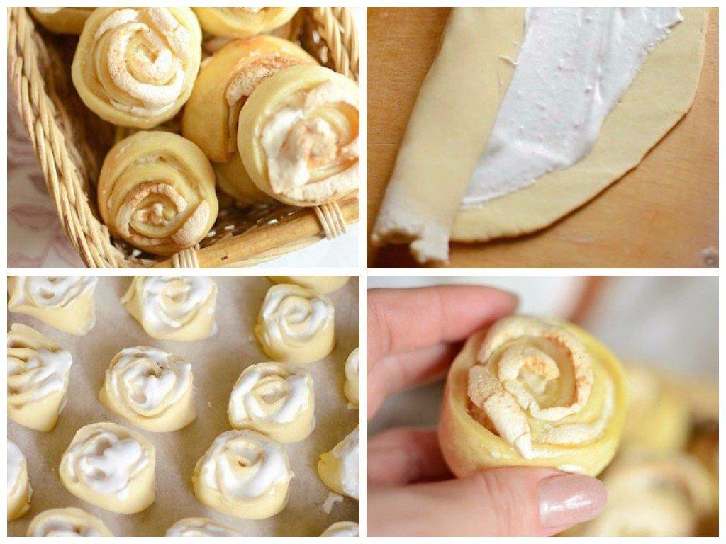 Печенье розы пошаговый рецепт