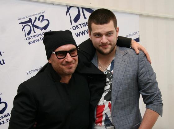 Дмитрий Нагиев с сыном Кириллом