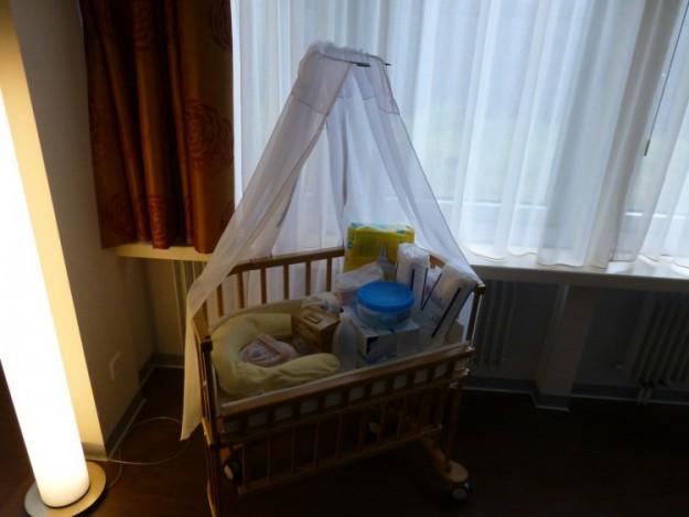 Колыбелька для малыша