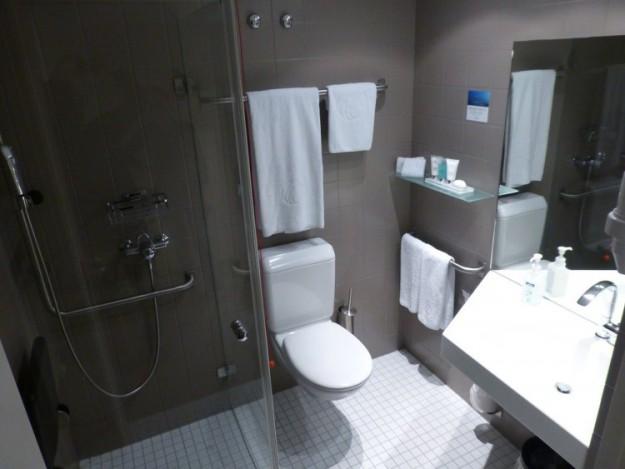 Комфортный душ и туалет