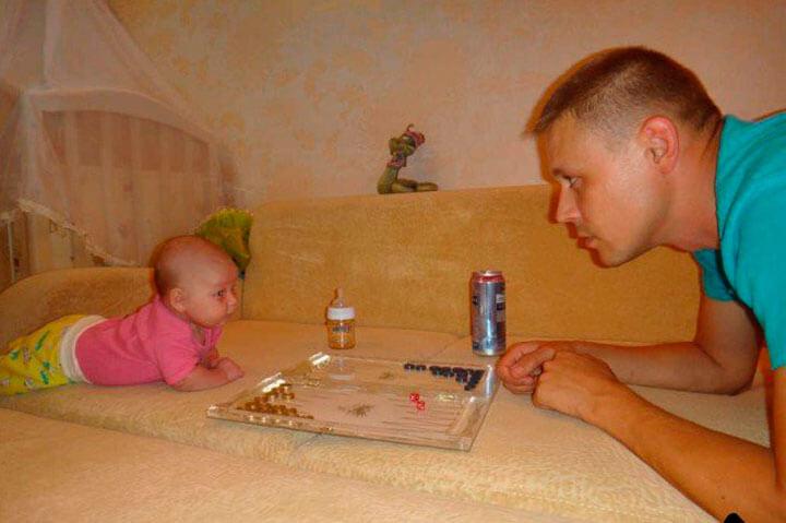 вечер с папой