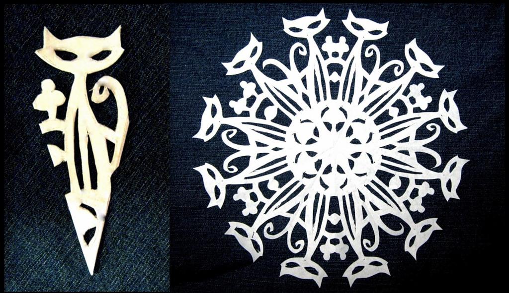 Креативная снежинка своими руками не из бумаги