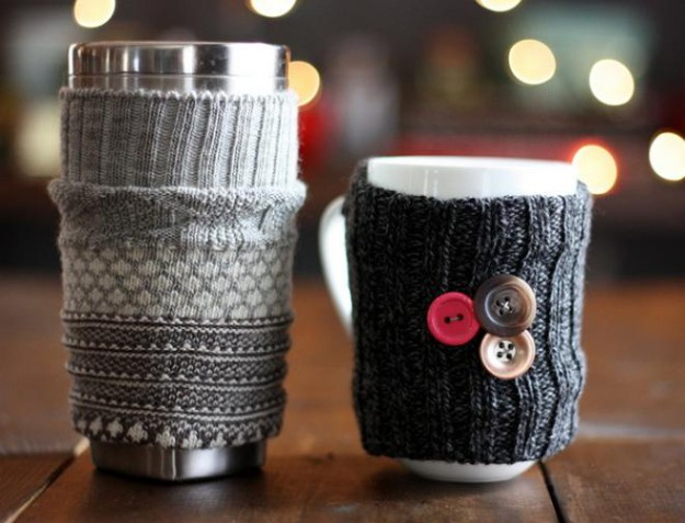 Зимние чехлы для чашек