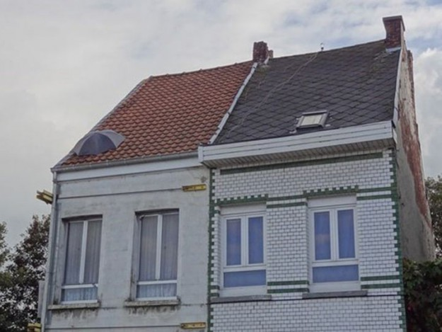 Зонтик спасет крышу от протекания