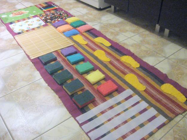 Коврик массажный для детей своими руками мастер класс