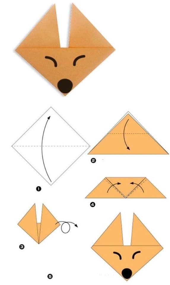 Простые поделки и оригами из бумаги