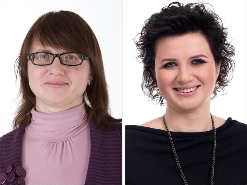 женщины до и после стилиста
