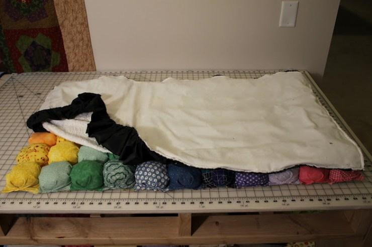 Одеяло из старых простыней своими руками