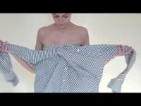 Как сделать из мужской рубашки несколько вариантов женской одежды