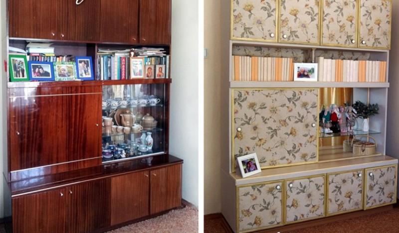 Обновить мебель лаковую