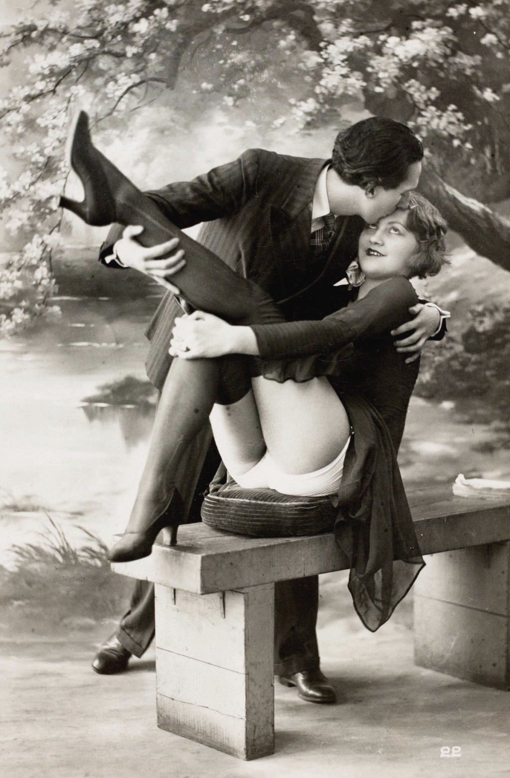 Эротика 19 го века как это делали тогда 15 фотография