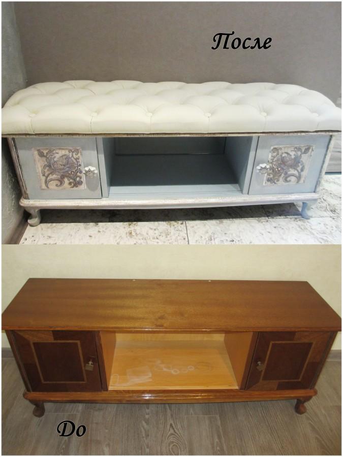 Переделка советской мебели своими руками фото